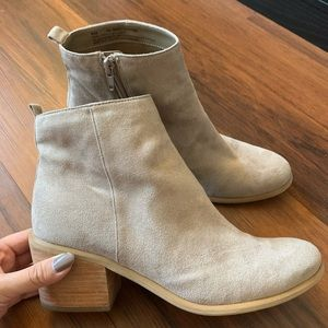 New Nordstrom Abound Tan Booties